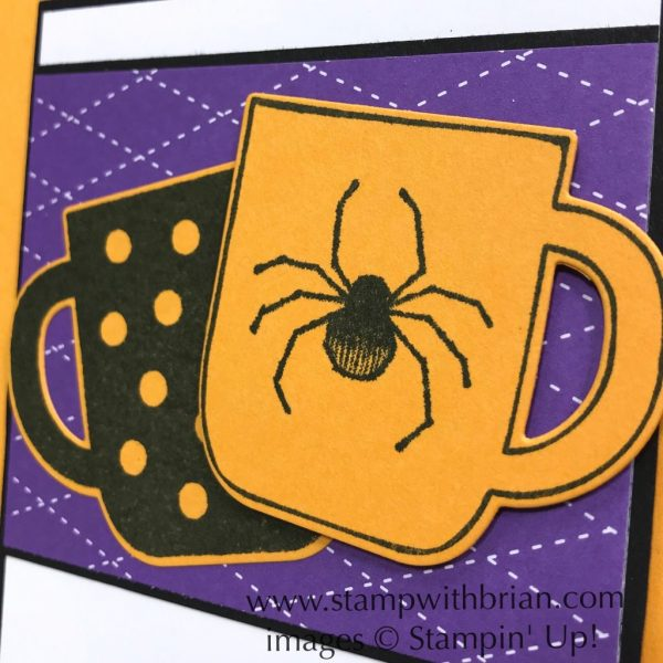 Cup of Christmas Bundle, Spooktacular Bash, Stampin' Up!, Brian King, Halloween card