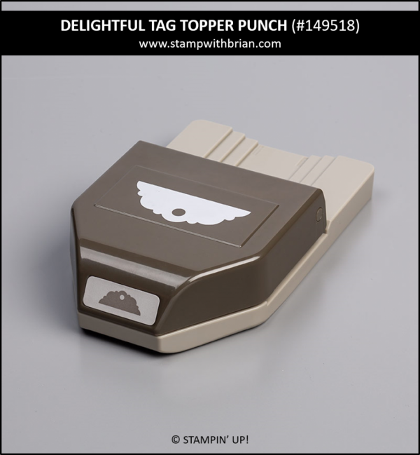 Delightful Tag Topper Punch, Stampin' Up! 149518