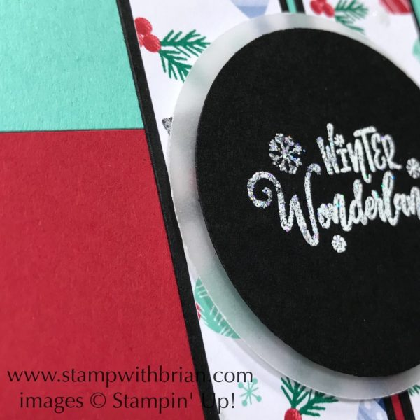 Everything Festive, Let it Snow Specialty Designer Series Paper, Stampin' Up!, Brian King