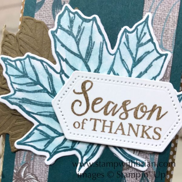 Gather Together Bundle, Stampin' Up!, Brian King, Thanksgiving treat pouch