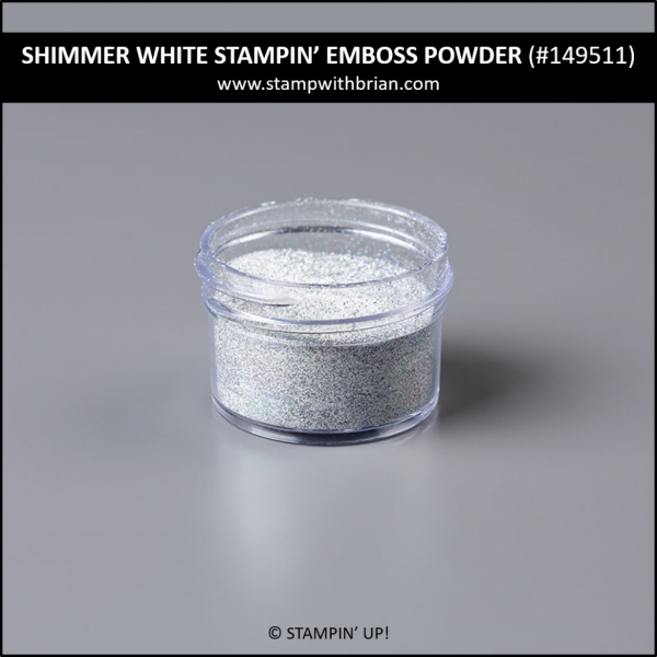 Shimmer White Stampin' Emboss Powder, Stampin' Up! 149511