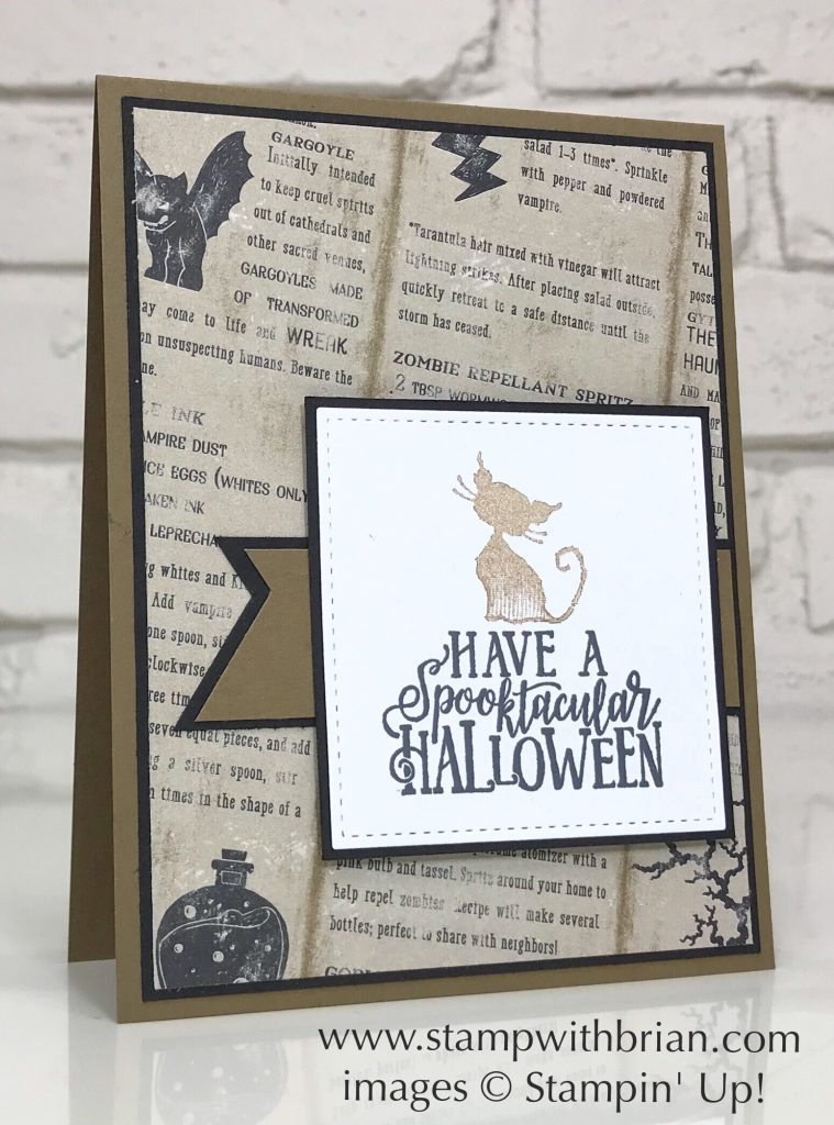 Spooktacular Bash, Wonderfully Wicked, Monster Bash, Stampin' Up!, Brian King