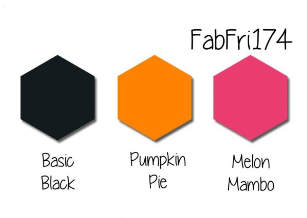 Stampin' Up! Color Inspriation - Basic Black, Pumpkin Pie, Melon Mambo