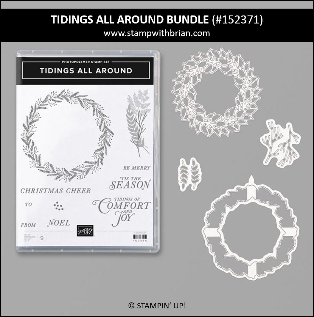 Tidings All Around, Stampin' Up! 152371