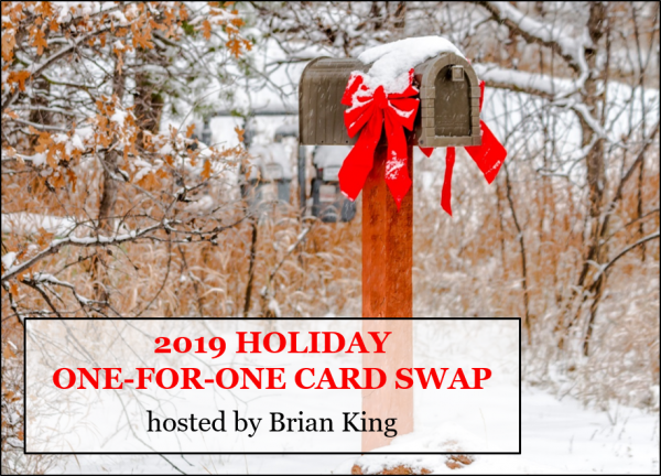 2019 Holiday Card Swap, Stampin' Up!, Brian King