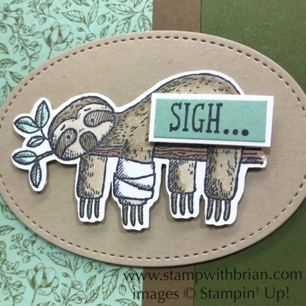 Back on Your Feet, Garden Lane, Stampin' Up!, Brian King, Get Well Soon card