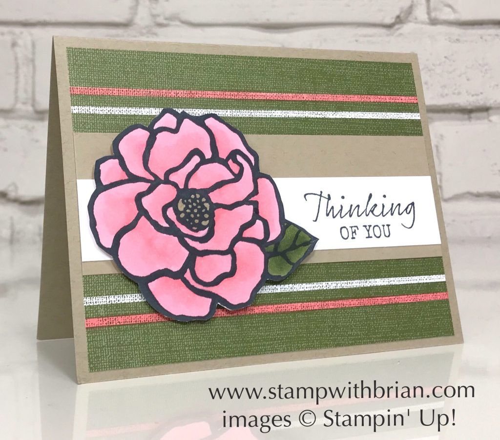 Beautiful Day, Seaside Notions, Magnolia Lane Designer Series Paper, Stampin' Up!, Brian King
