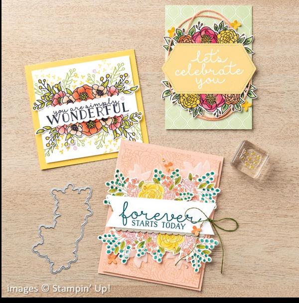 Bloom & Grow Bundle, Stampin' Up!, Catalog Samples