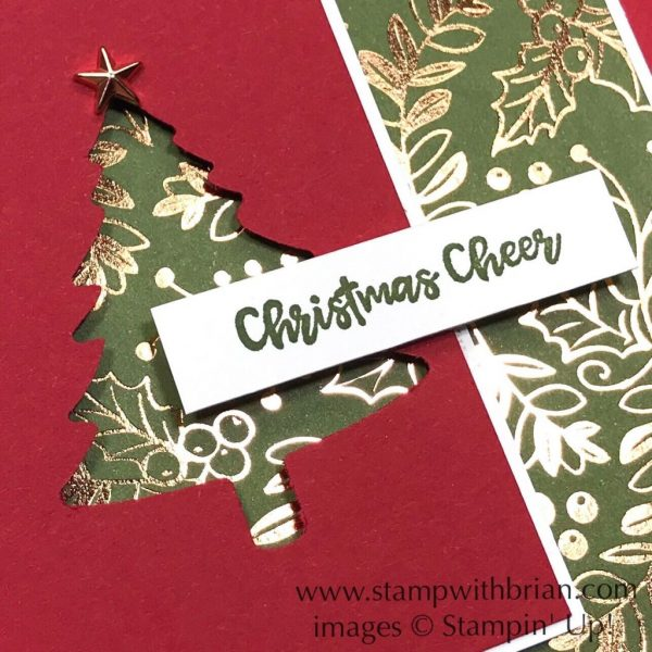 Brightly Gleaming, Itty Bitty Christmas, Pine Tree Punch, Stampin' Up!, Brian King