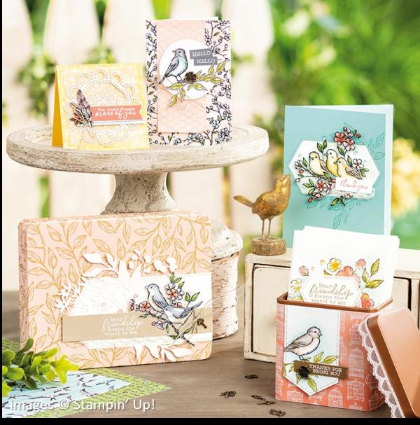 Free as a Bird Bundle, Stampin' Up!, Catalog Samples