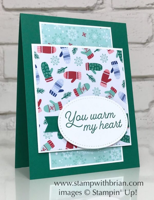 Frosted Foliage, Let It Snow Specialty Designer Series Paper, Stampin' Up!, Brian King