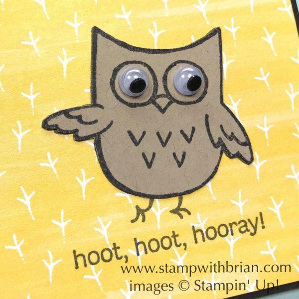 Hoot Hoot Hooray, Stampin' Up!, Brian King