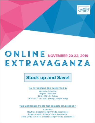 Online Extravaganza Flyer