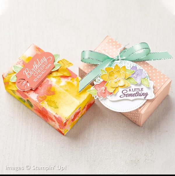 Parcels & Petals Bundle, Stampin' Up!, Catalog Samples