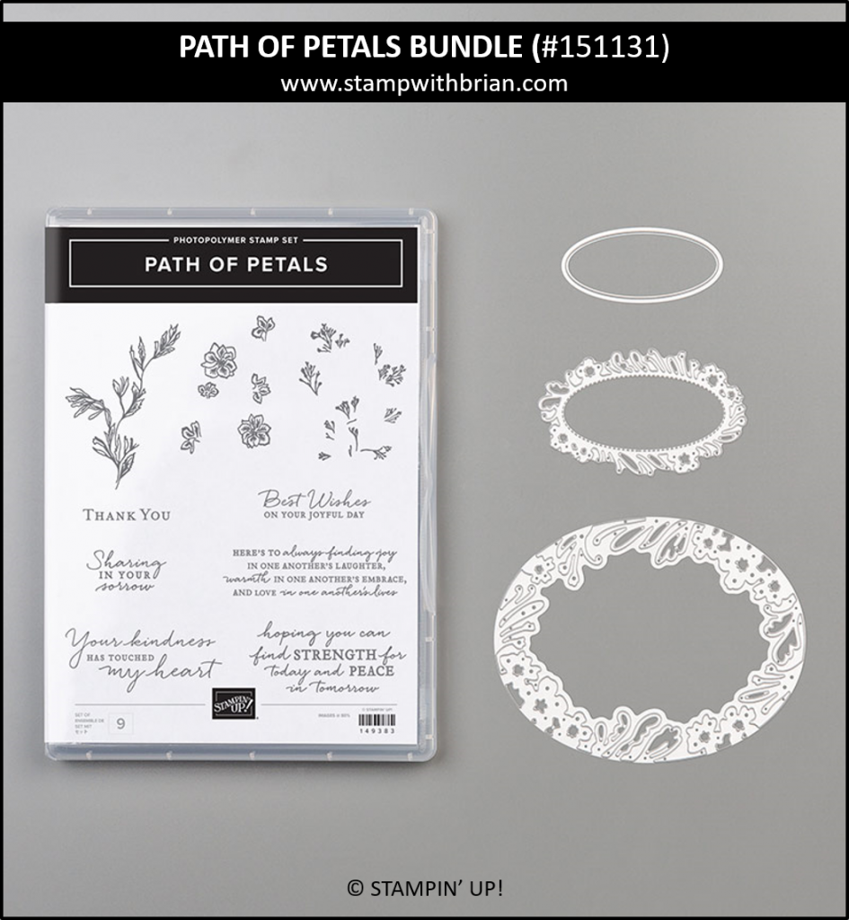 Path of Petals Bundle, Stampin' Up! 151131