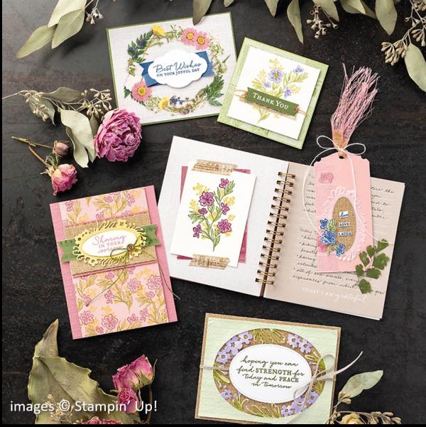 Path of Petals Bundle, Stampin' Up!, Catalog Samples