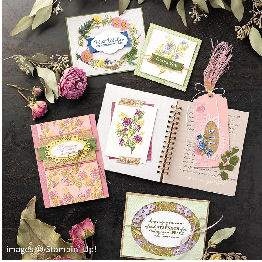 Path of Petals Bundle, Stampin' Up!, Catalog Samples