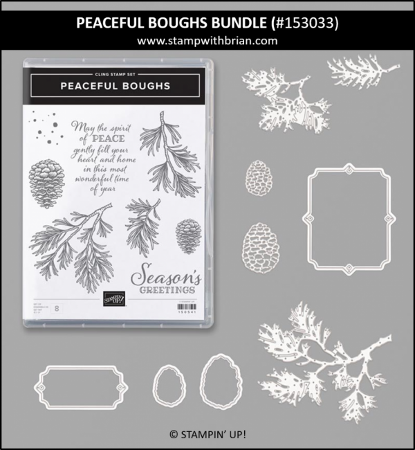 Peaceful Boughs Bundle, Stampin' Up! 153033