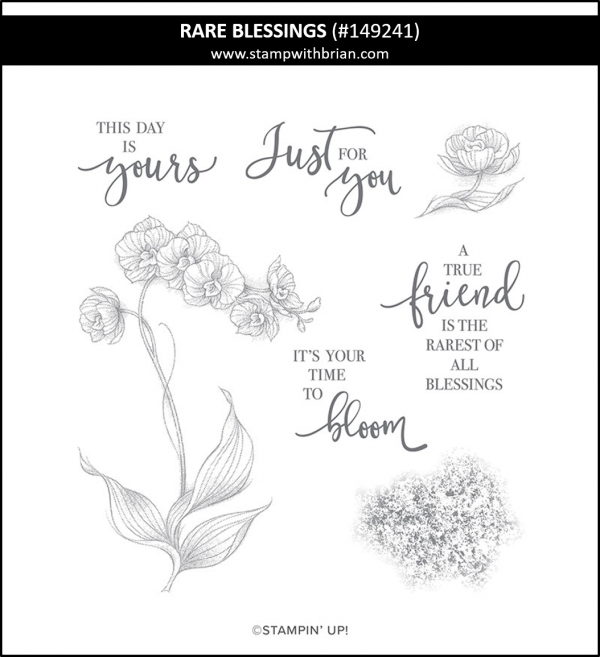 Rare Blessings, Stampin' Up! 149241