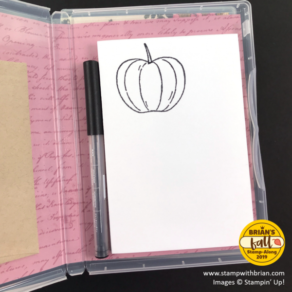 Stamp Cases with Pressed Petals Specialty Designer Series Paper, Stampin' Up!, Brian King
