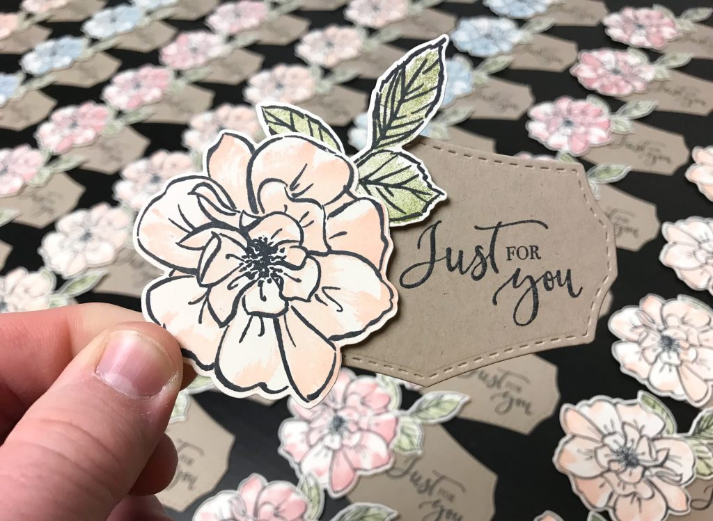 To a Wild Rose Tag, Stampin' Up!, Brian King