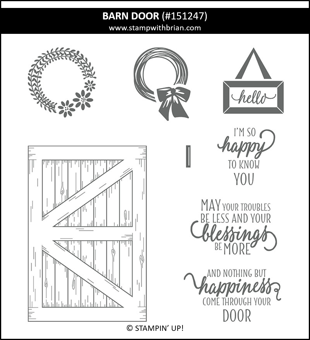 Barn Door, Stampin' Up! 151247