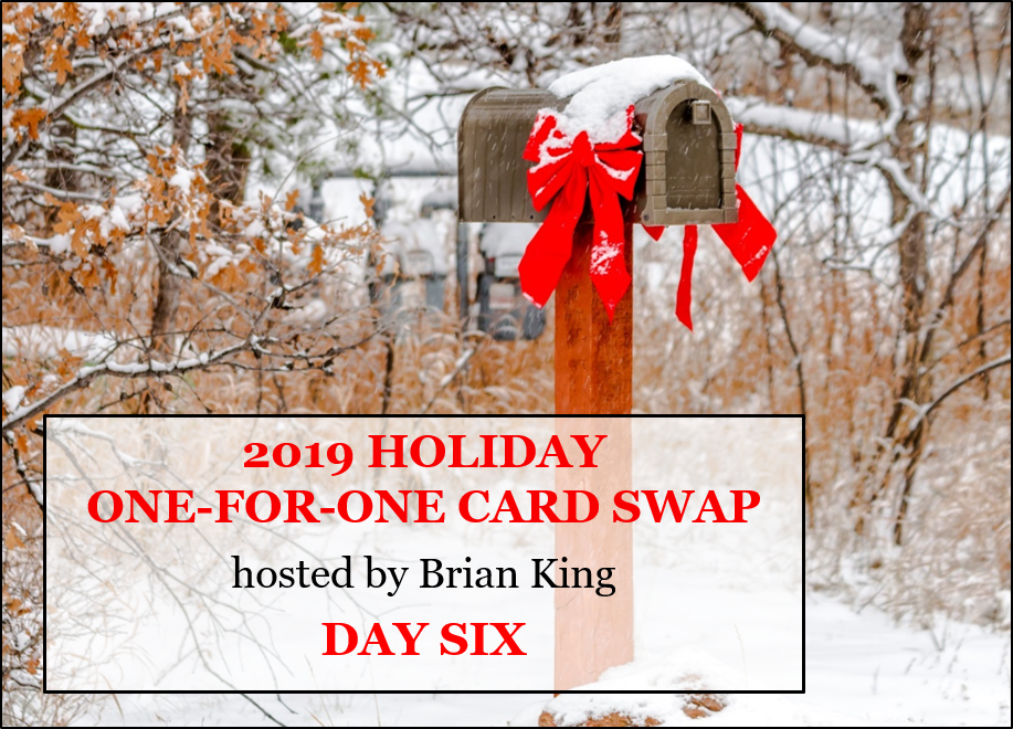 Holiday One-for-One Swap 2019, Day 6, Stampin' Up!