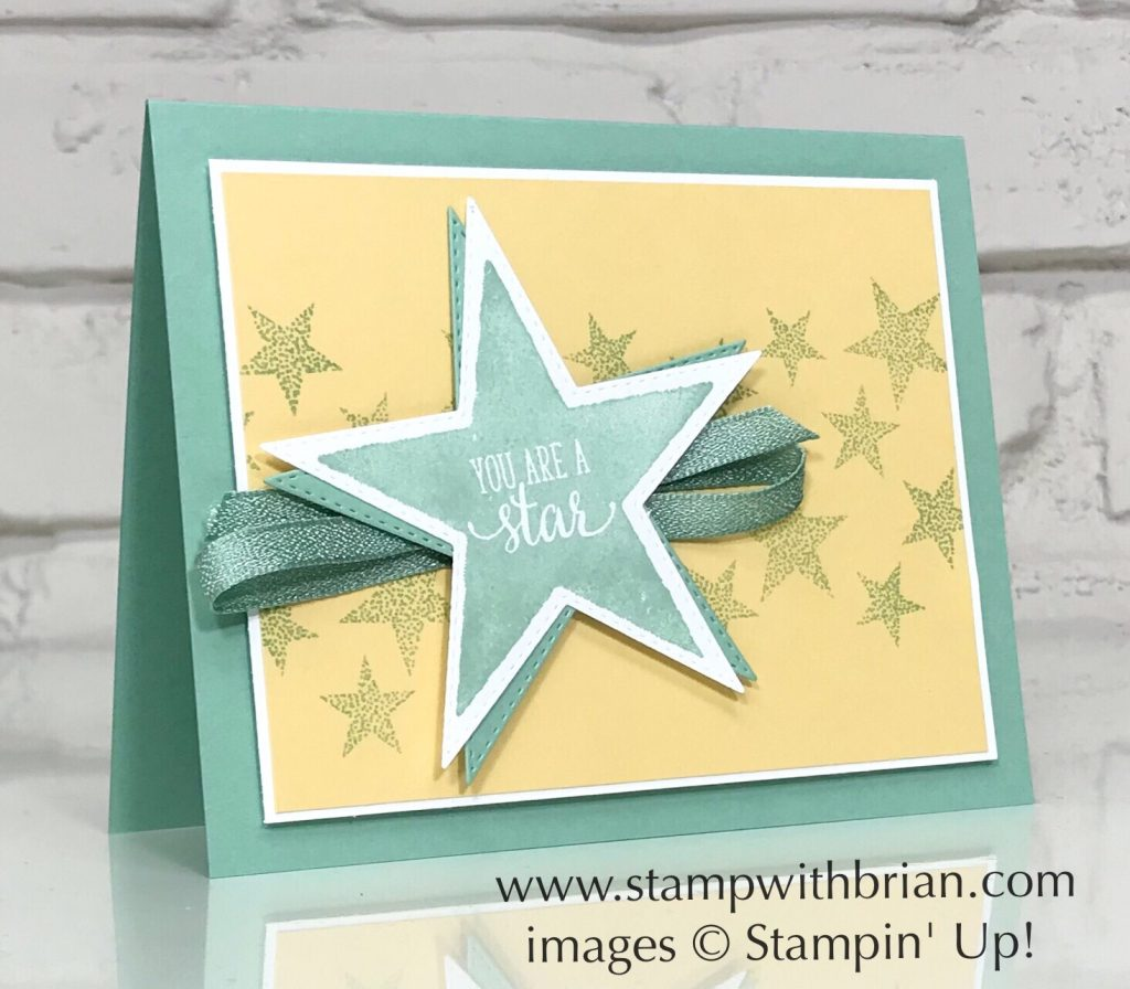 Morning Star, So Many Stars, Stitched Stars Dies, Stampin' Up!, Brian King