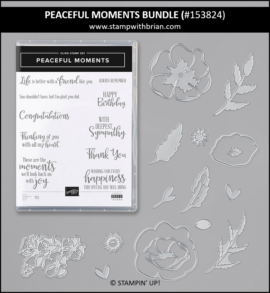 Peaceful Moments Bundle, Stampin' Up! 153824