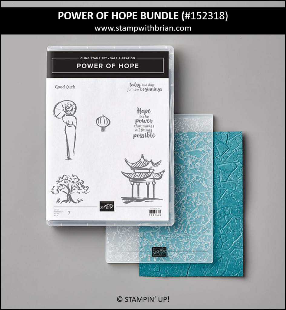 Power of Hope Bundle, Sale-a-Bration, Stampin' Up! 152318