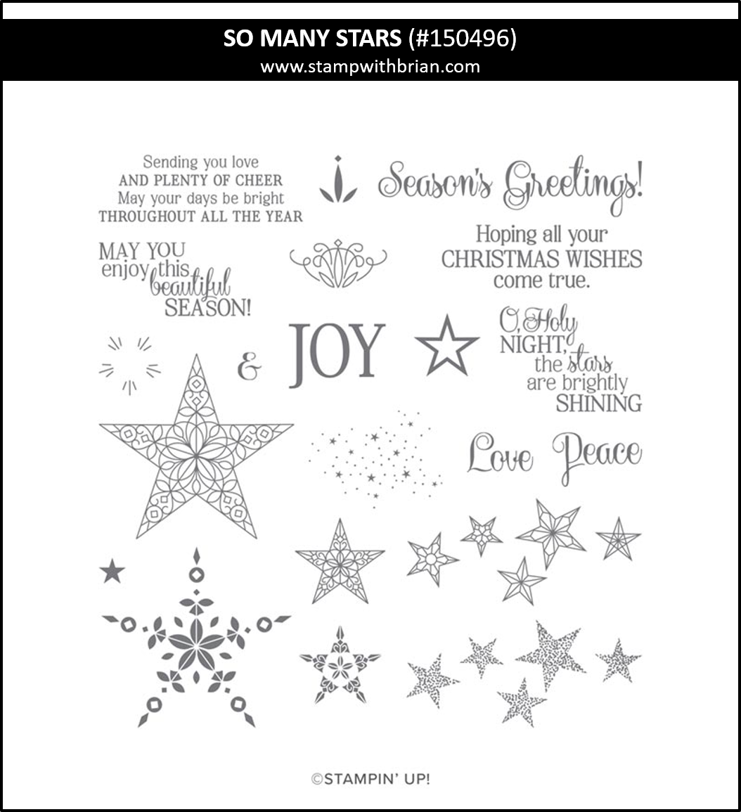 So Many Stars, Stampin' Up! 150496