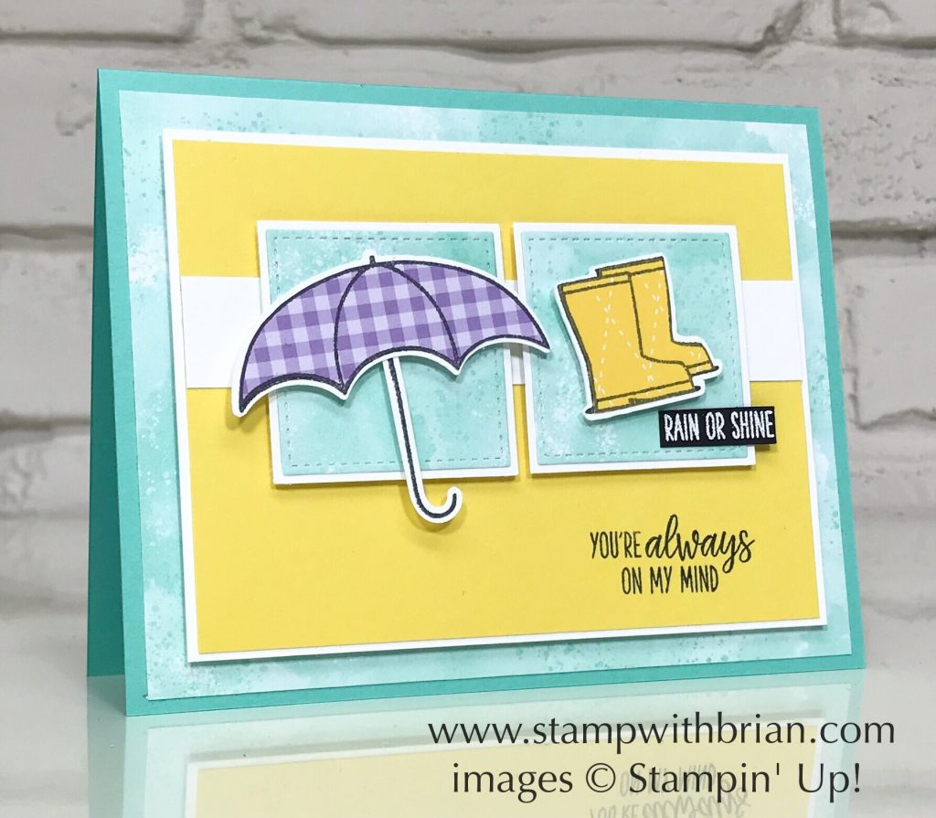 Under My Umbrella Bundle, Stampin' Up!, Brian King