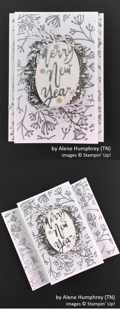 by Alene Humphrey, Brian's Holiday One-for-One Swap, Stampin' Up!