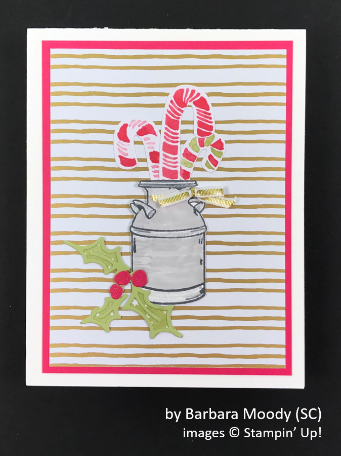 by Barbara Moody, Brian's Holiday One-for-One Swap, Stampin' Up!
