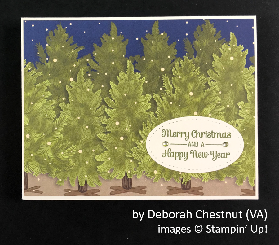 by Deborah Chestnut, Brian's Holiday One-for-One Swap, Stampin' Up!