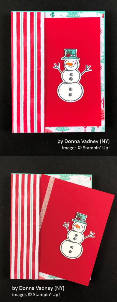 by Donna Vadney, Brian's Holiday One-for-One Swap, Stampin' Up!