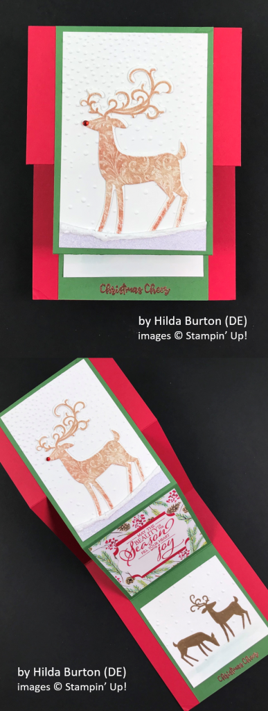 by Hilda Burton, Brian's Holiday One-for-One Swap, Stampin' Up!