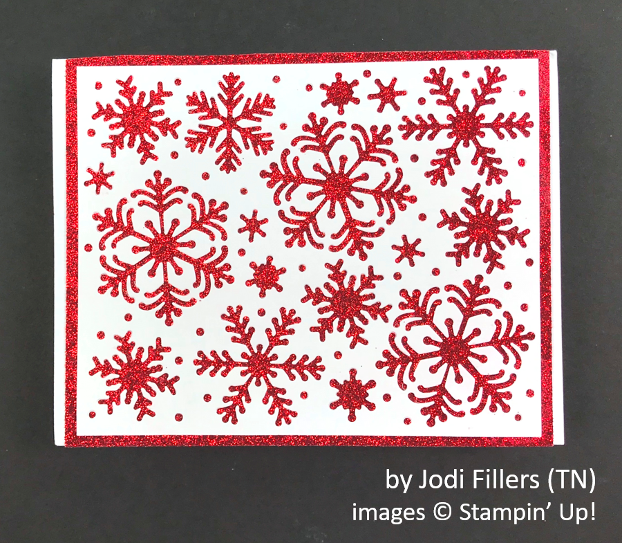 by Jodi Fillers, Brian's Holiday One-for-One Swap, Stampin' Up!