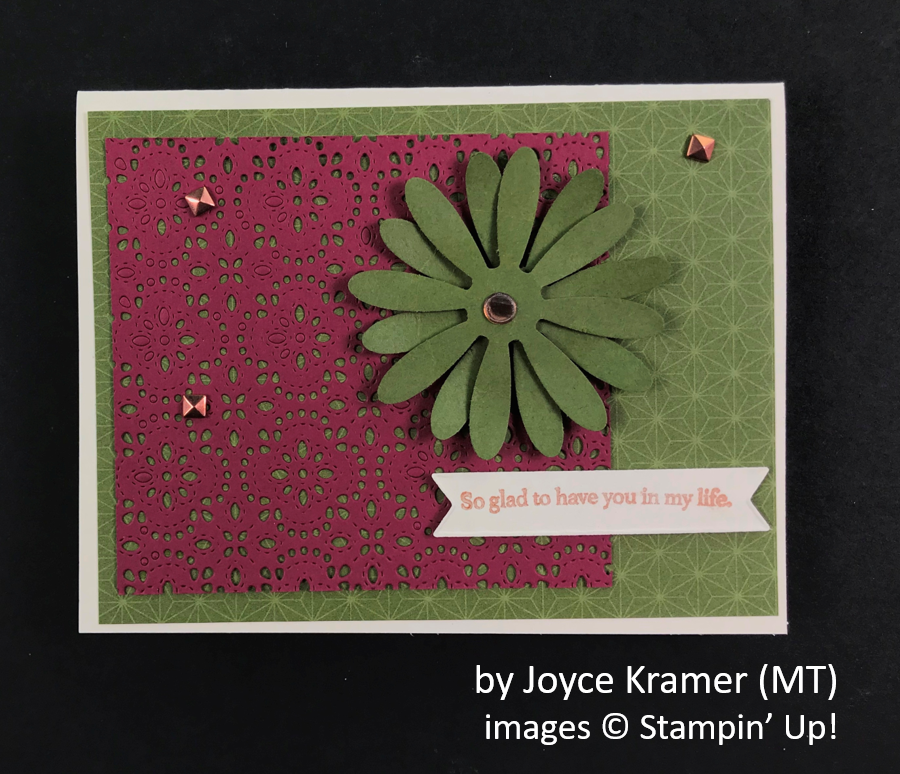by Joyce Kramer, Brian's Holiday One-for-One Swap, Stampin' Up!