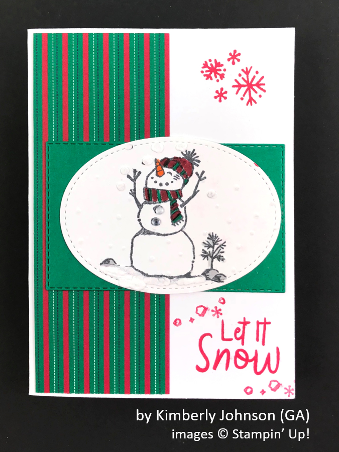 by Kimberly Johnson, Brian's Holiday One-for-One Swap, Stampin' Up!