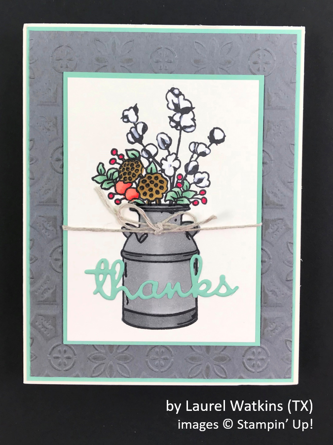 by Laurel Watkins, Brian's Holiday One-for-One Swap, Stampin' Up!