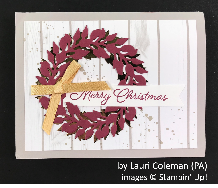 by Lauri Coleman, Brian's Holiday One-for-One Swap, Stampin' Up!