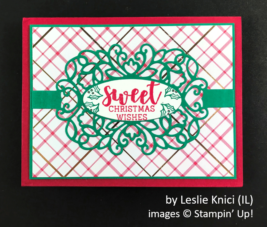 by Leslie Knici, Brian's Holiday One-for-One Swap, Stampin' Up!