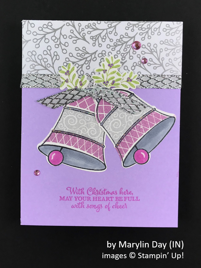 by Marylin Day, Brian's Holiday One-for-One Swap, Stampin' Up!