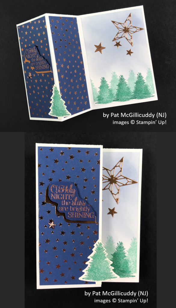 by Pat McGillicuddy, Brian's Holiday One-for-One Swap, Stampin' Up!