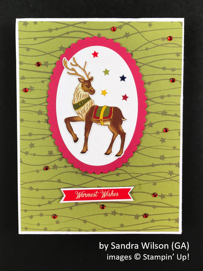 by Sandra Wilson, Brian's Holiday One-for-One Swap, Stampin' Up!