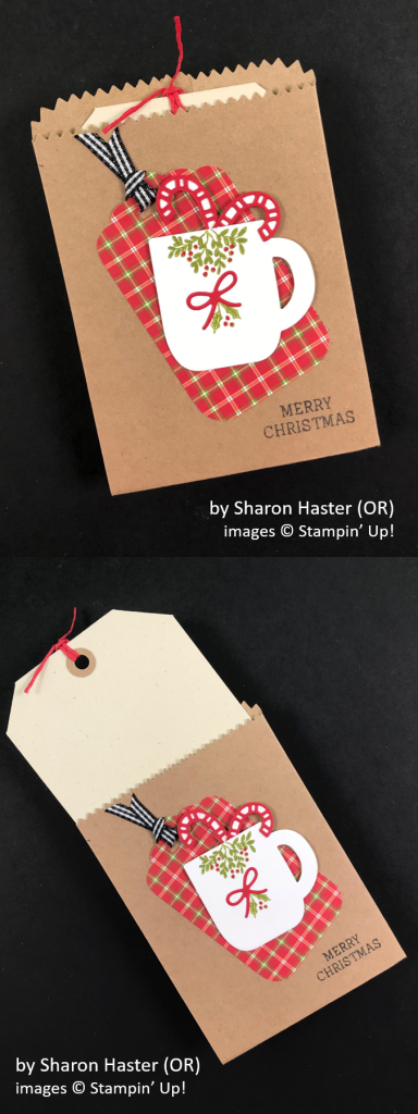 by Sharon Haster, Brian's Holiday One-for-One Swap, Stampin' Up!