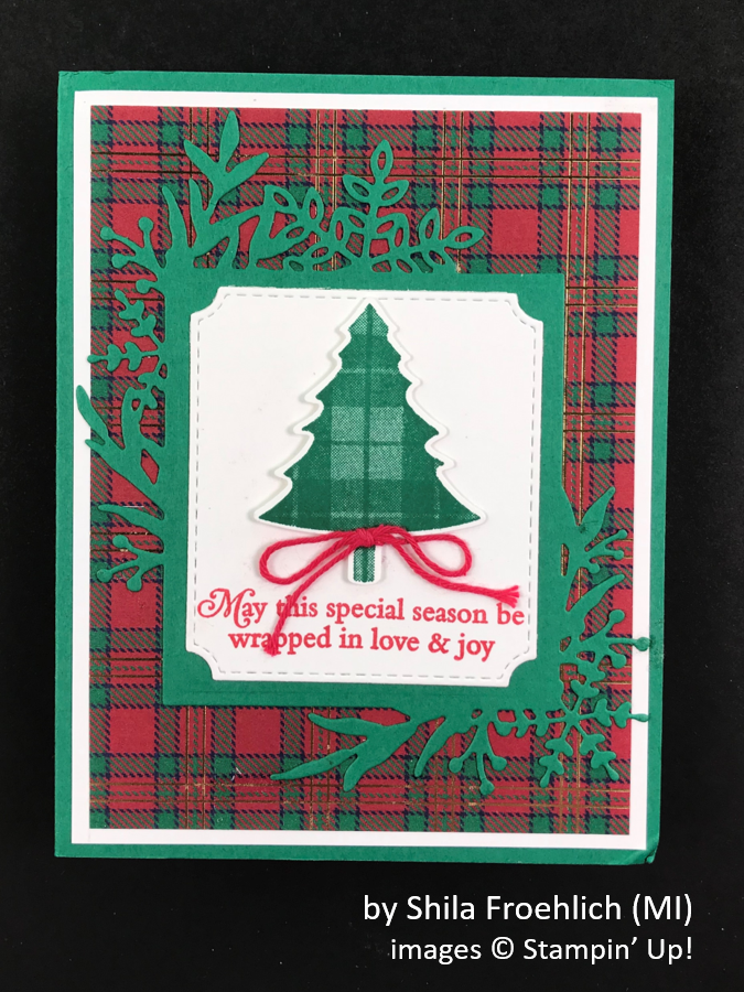 by Shila Forehlich, Brian's Holiday One-for-One Swap, Stampin' Up!