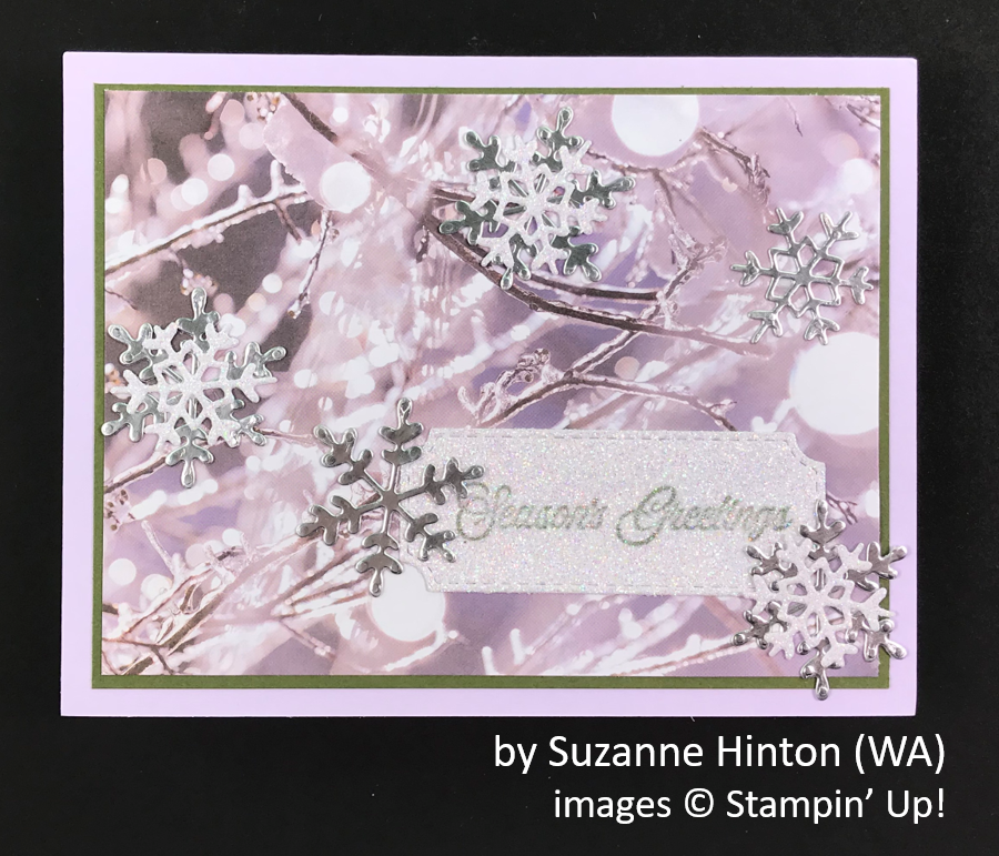 by Suzanne Hinton, Brian's Holiday One-for-One Swap, Stampin' Up!