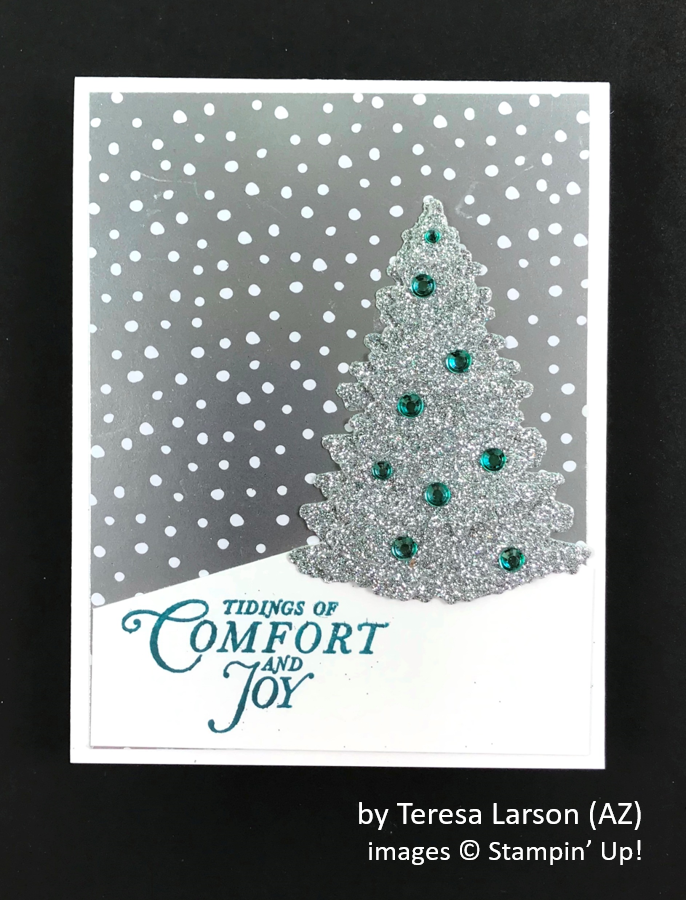by Teresa Larson, Brian's Holiday One-for-One Swap, Stampin' Up!